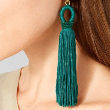 aretes, barbitas,tassel, earrings,5